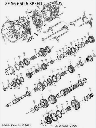 Zf S6 650 Parts Diagram